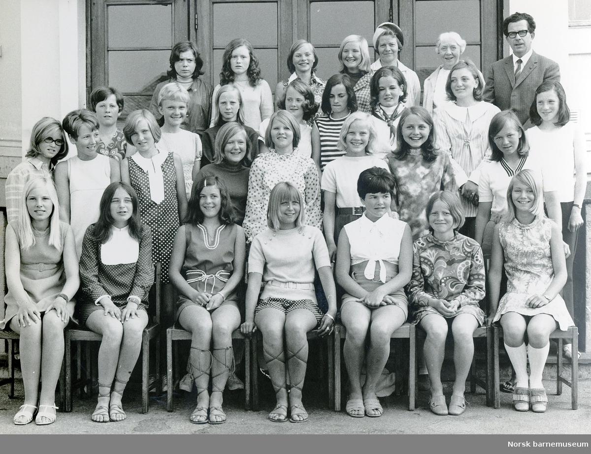 Klassebilde. Storhaug skole. 1970.