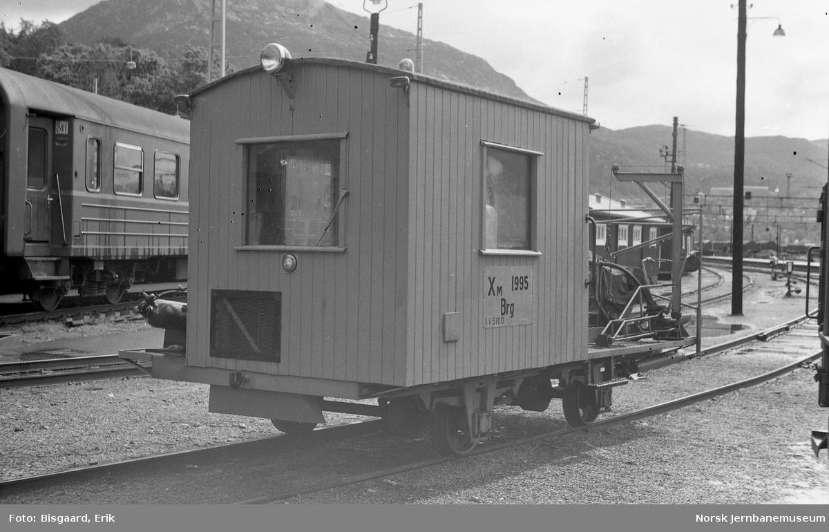 Internvogn XM 1995 på Bergen stasjon