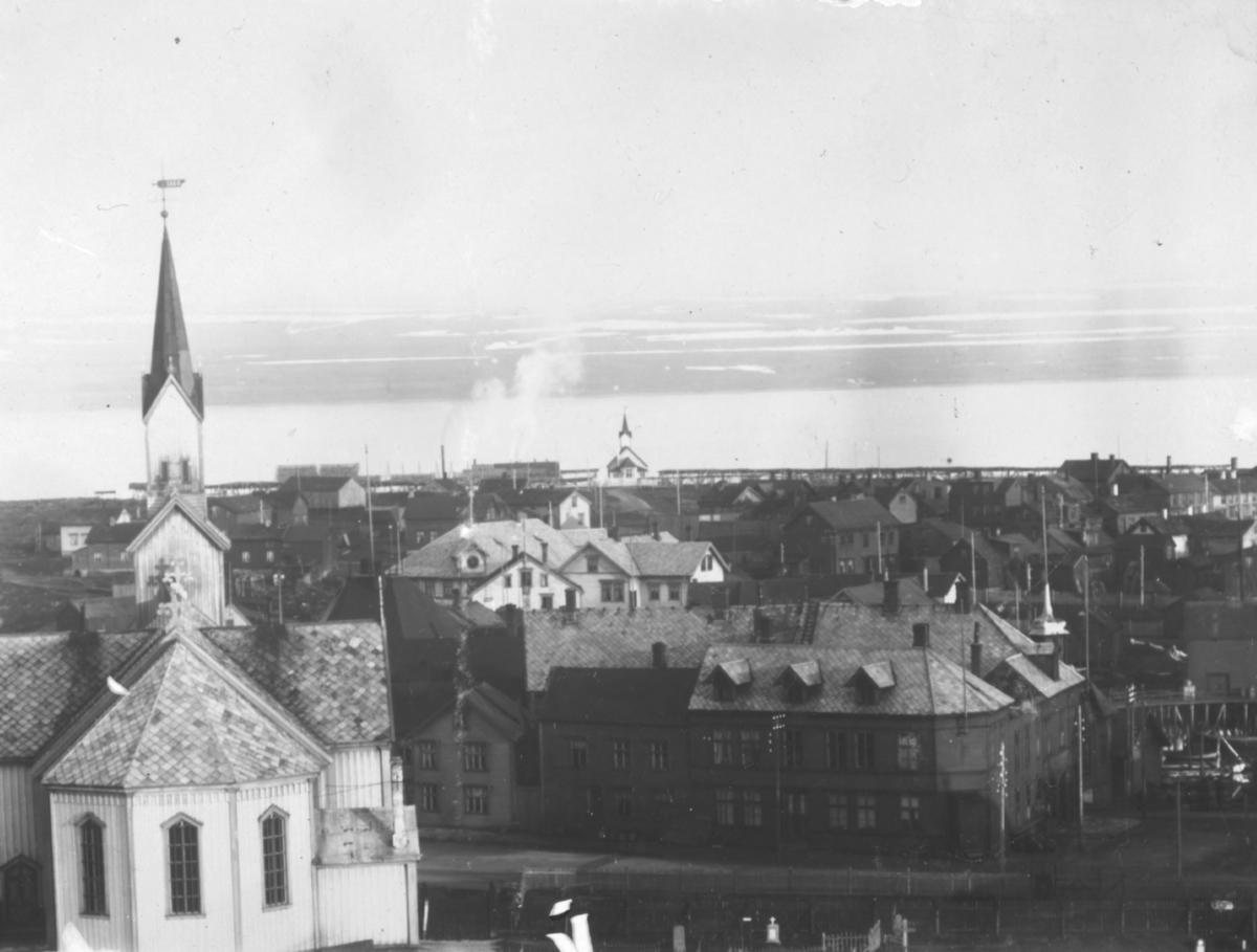 Oversiktsbilde av  Vardø
