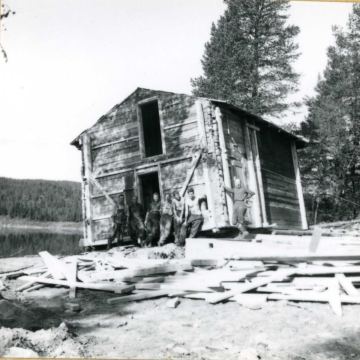 Inntak og dam. Våmar vatn + Kåsvatn  (41)