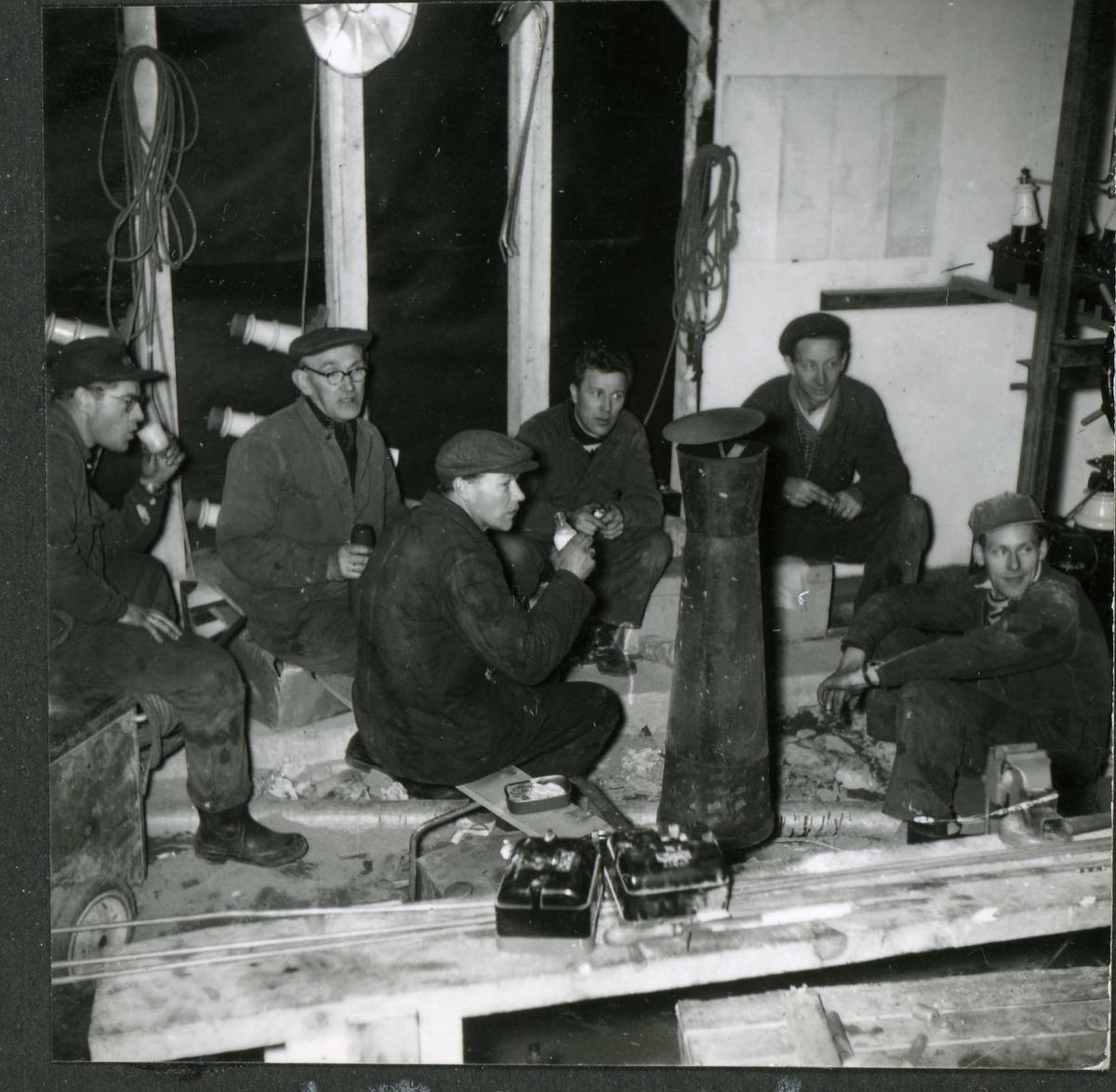 183-4 Arbeidslag Hyllandsfoss kraftverk