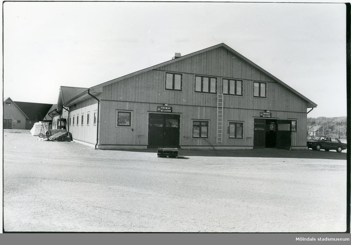 Stall Tomas Nilsson på Åby Stallbacke.  Blandade bilder inslamlade i samband med dokumentation av Åby Stallbacke och Stallgårdarna 2015.
