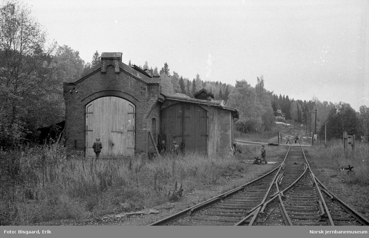 Lokomotivstallen på Skreia stasjon