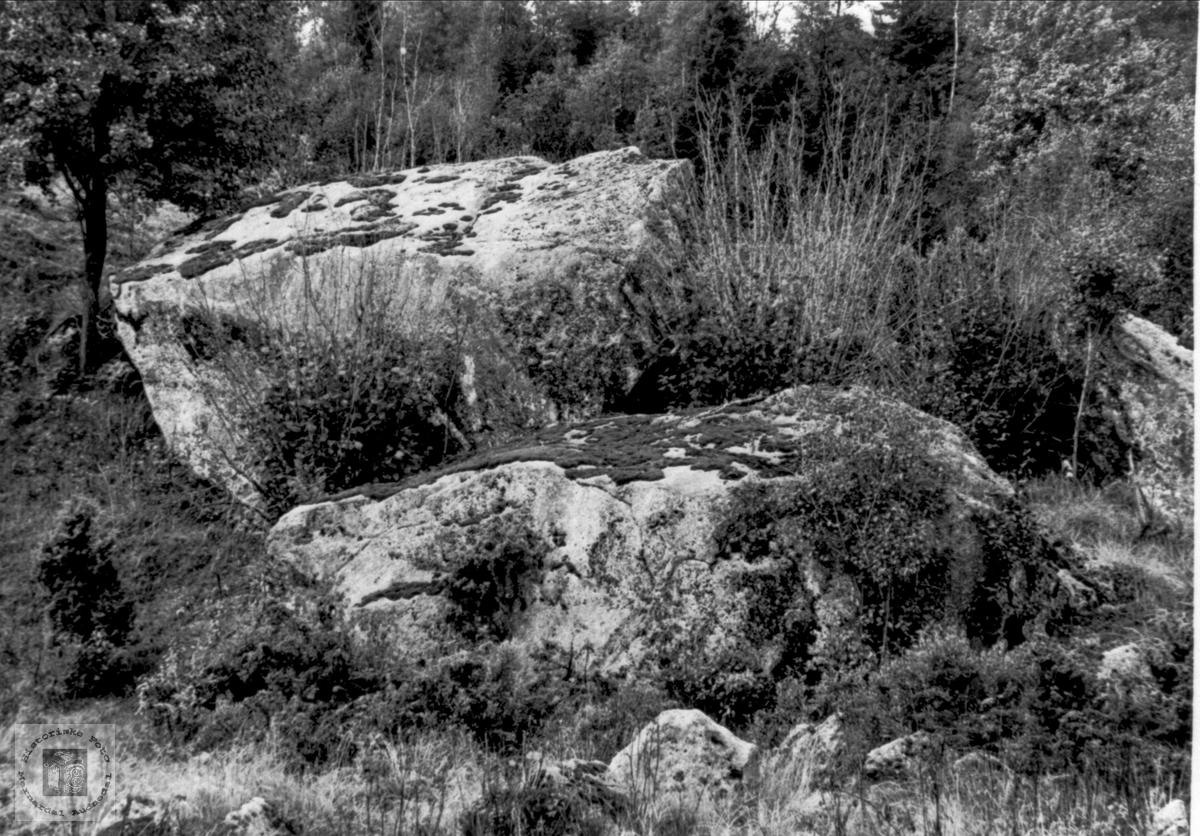 Minnesteinar etter  istida