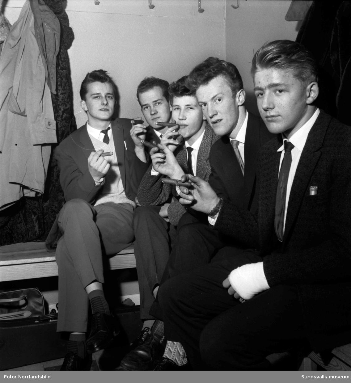 Julfest på Verkstadsskolan 1958.