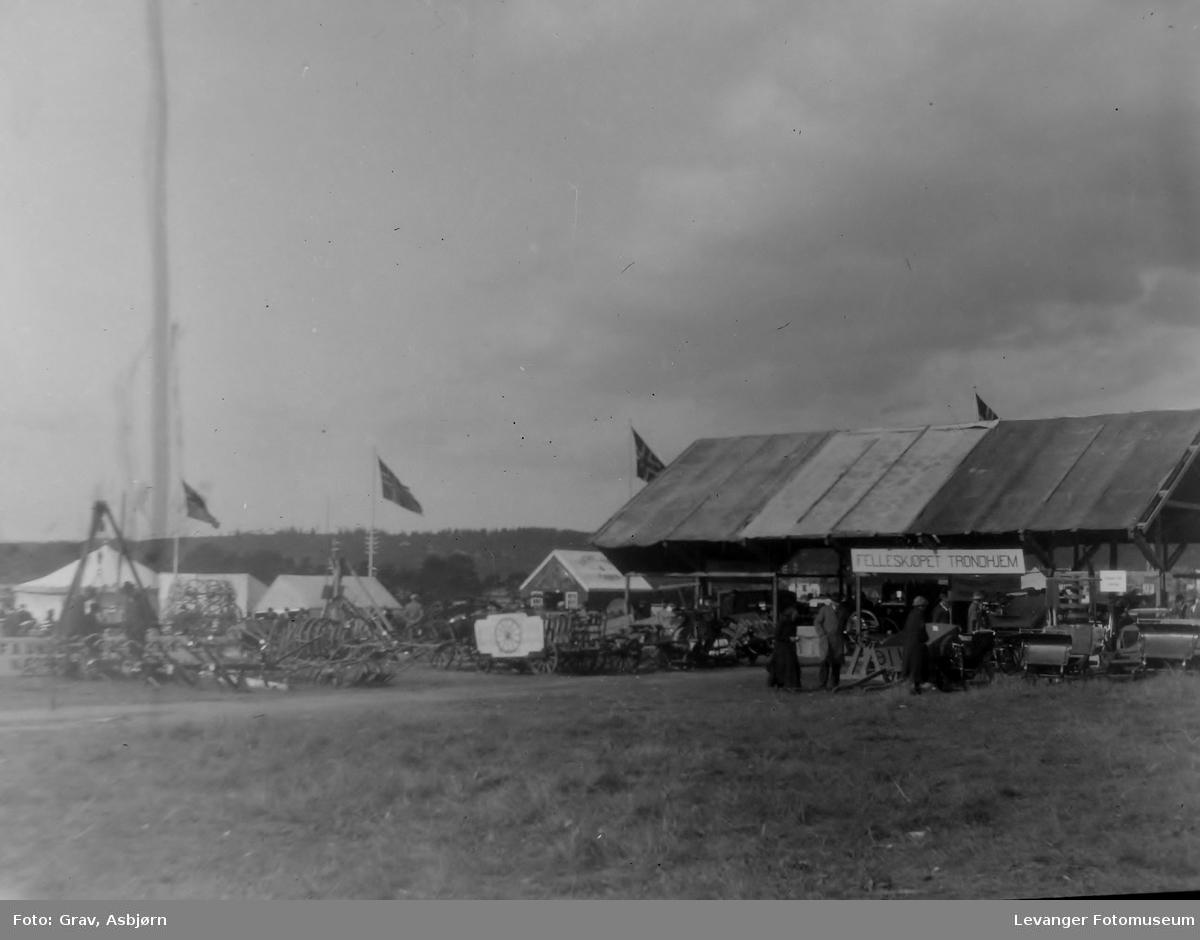 Landbruksutstilling, maskiner og utstyr