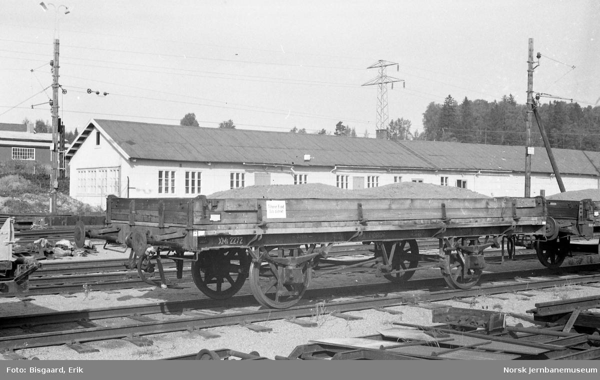 Grusvogn litra XM1 nr. 2272 på Ski stasjon