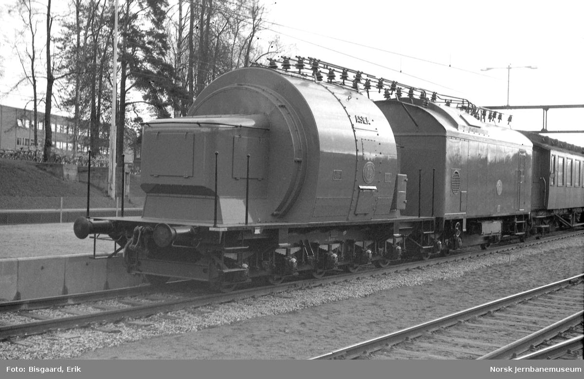 Omformervogn litra R103 nr. 10 på Ski stasjon