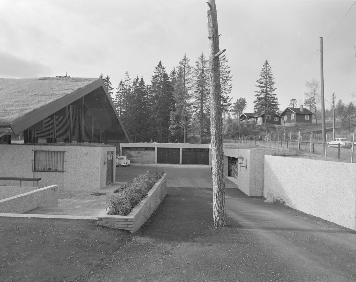 Arkitekturfoto av villa.
