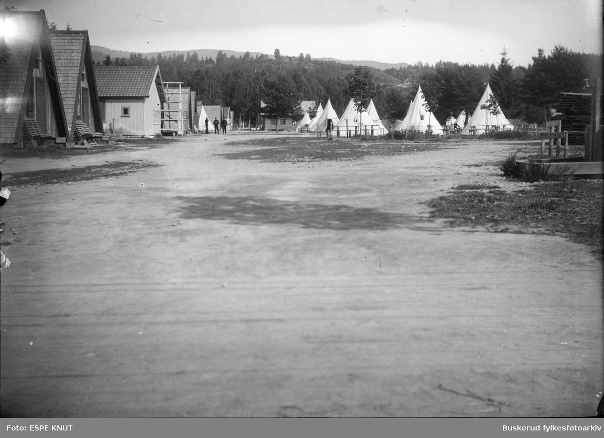 Hvalsmoen militær leir i Hønefoss teltleir