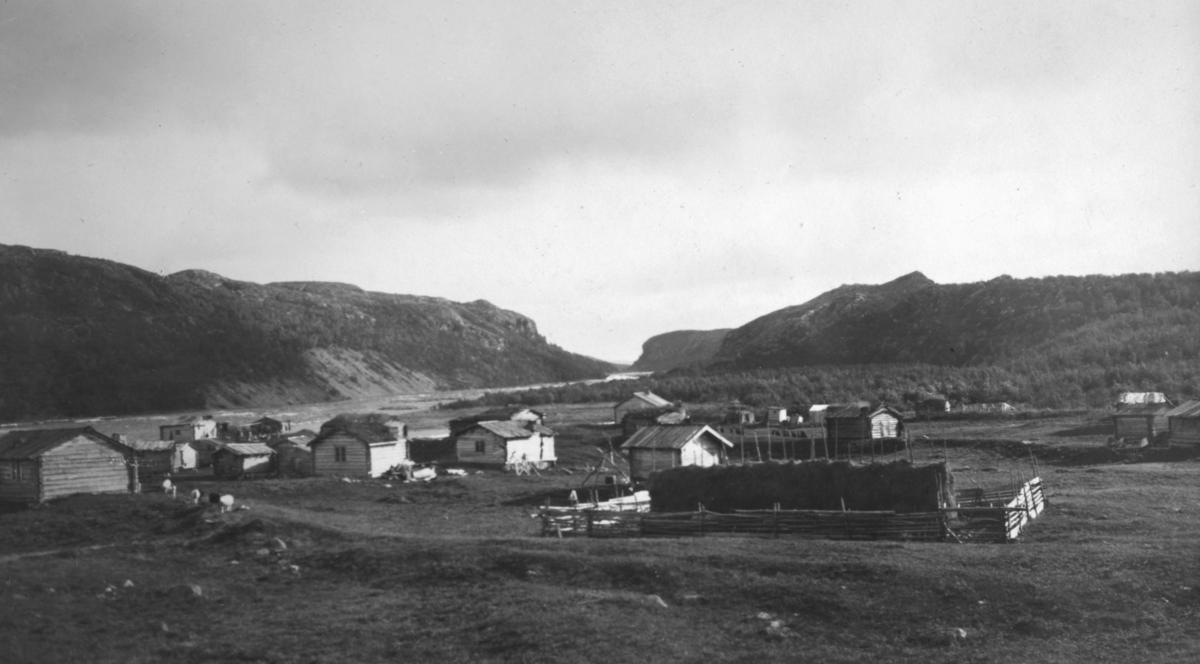 Skoltebyen i Boris Gleb august 1910.
