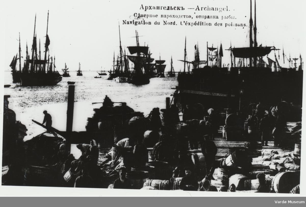 Innseiling fra nord, fiskemottak