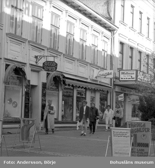 Langes Parfymeri sett från Kungsgatan, Uddevalla