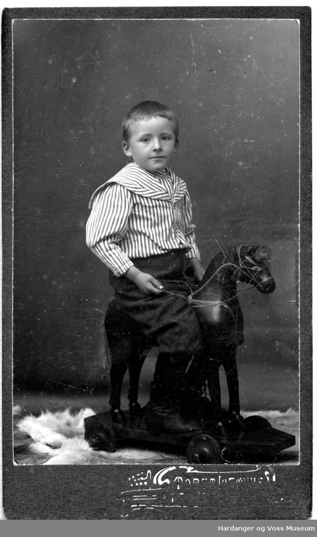 Portrett, barn