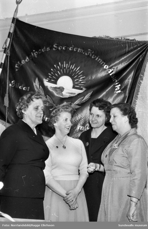 Medelpads socialdemokratiska kvinnodistrikt har årsmöte på W6.