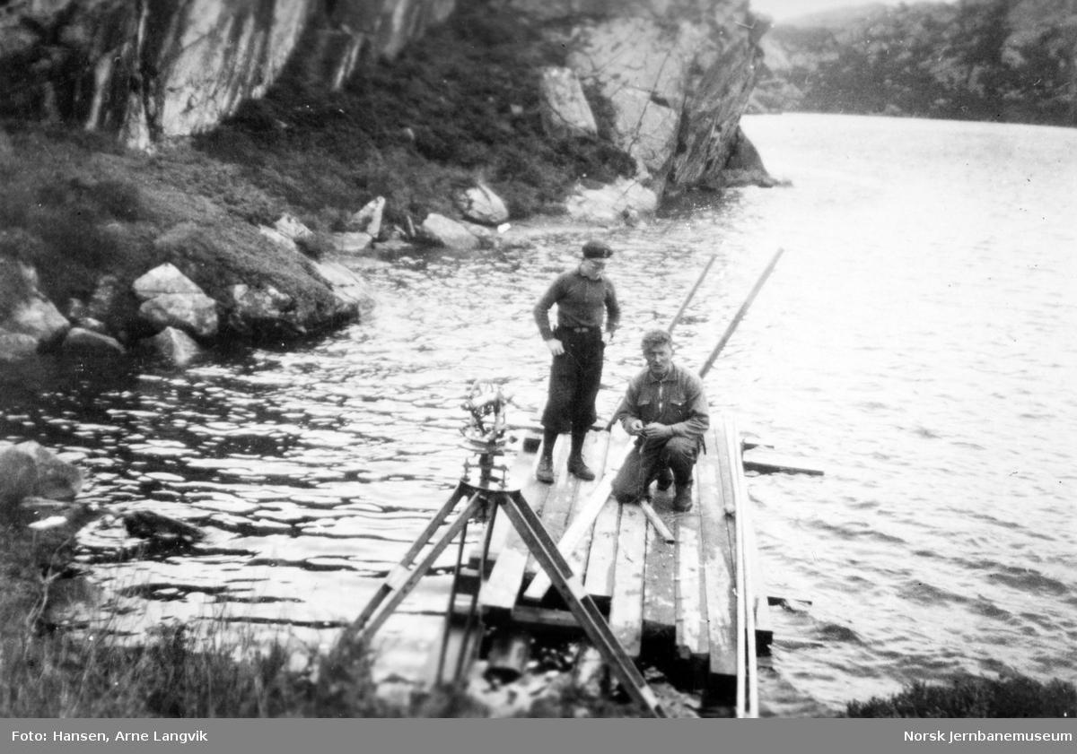 Stikking av jernbanen mellom Fauske og Bodø