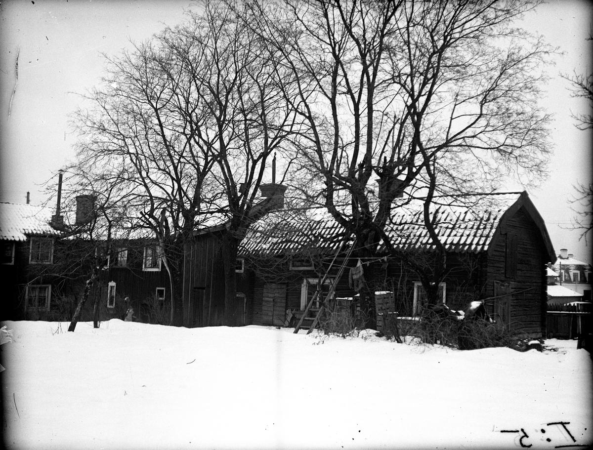 Råbergska gården 1910-tal. Fotograf: E Sörman Fotokopia finns.