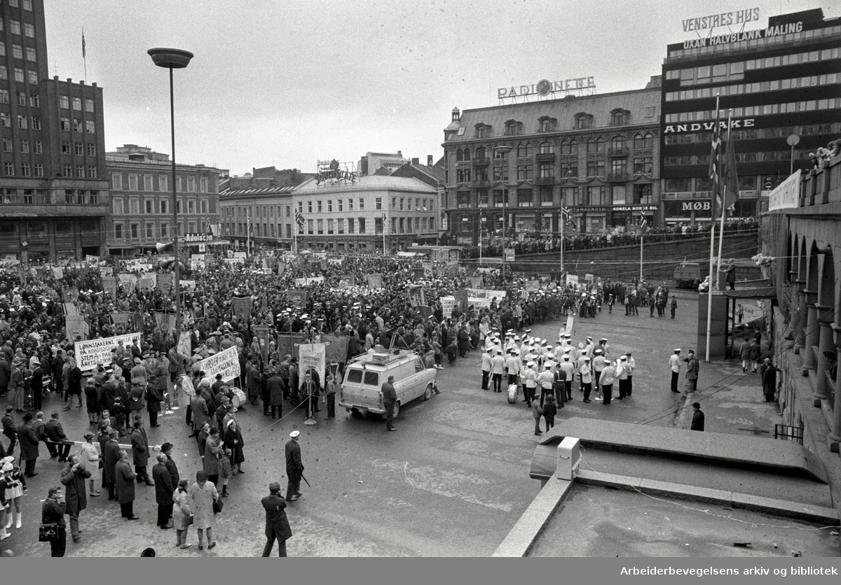 1. mai 1969, Youngstorget.
