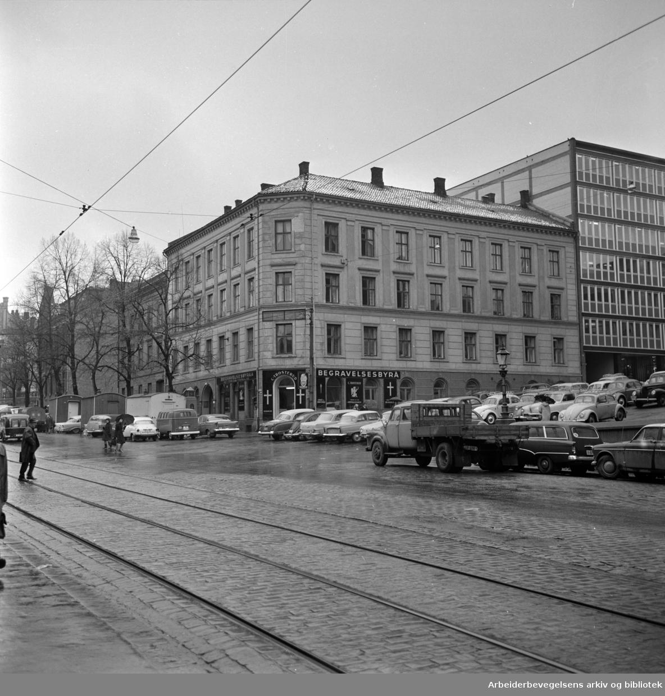 Akersgata 68 - 70. November 1963