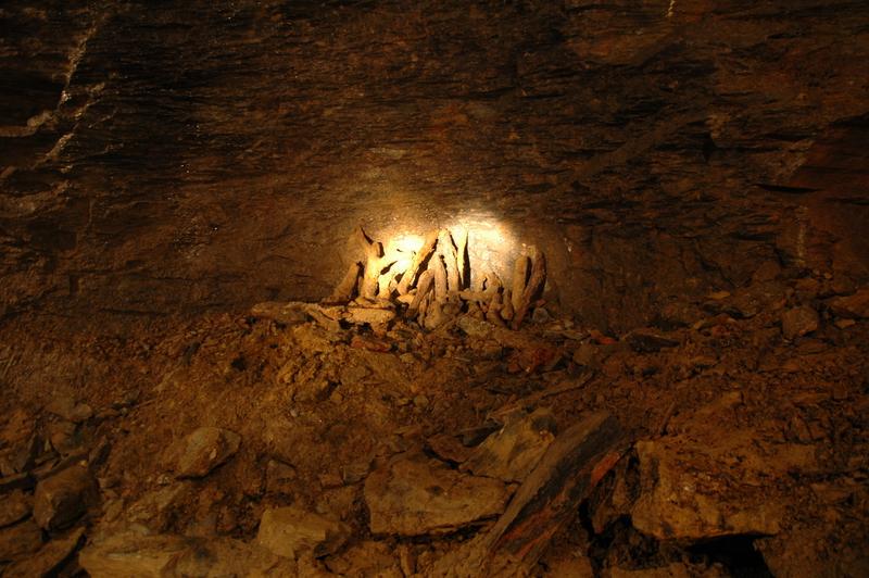 Nyberget gruve ble drevet ved hjelp av fyrsetting.