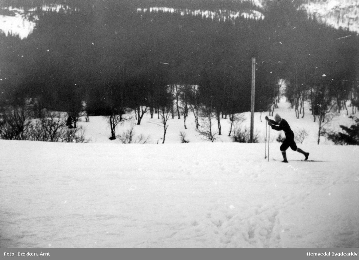 Olav Dokk i fint driv i 1959