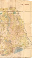 Kart , bestandskart, driftsplankart, over Nes (Næs) Sætersko