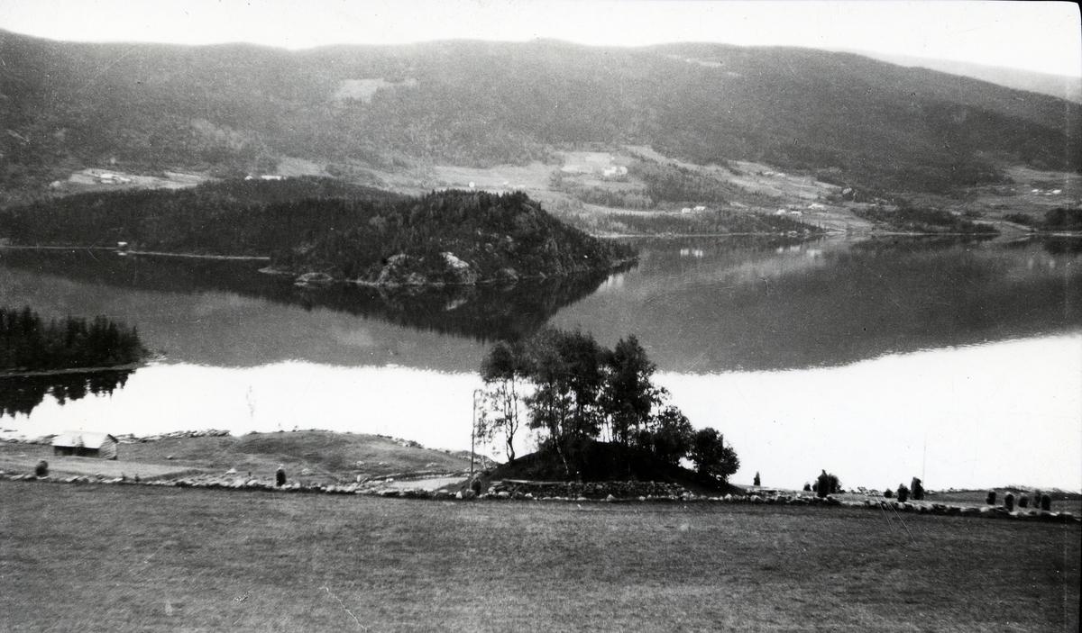 Gravhaug fra Lomen, Vestre Slidre.