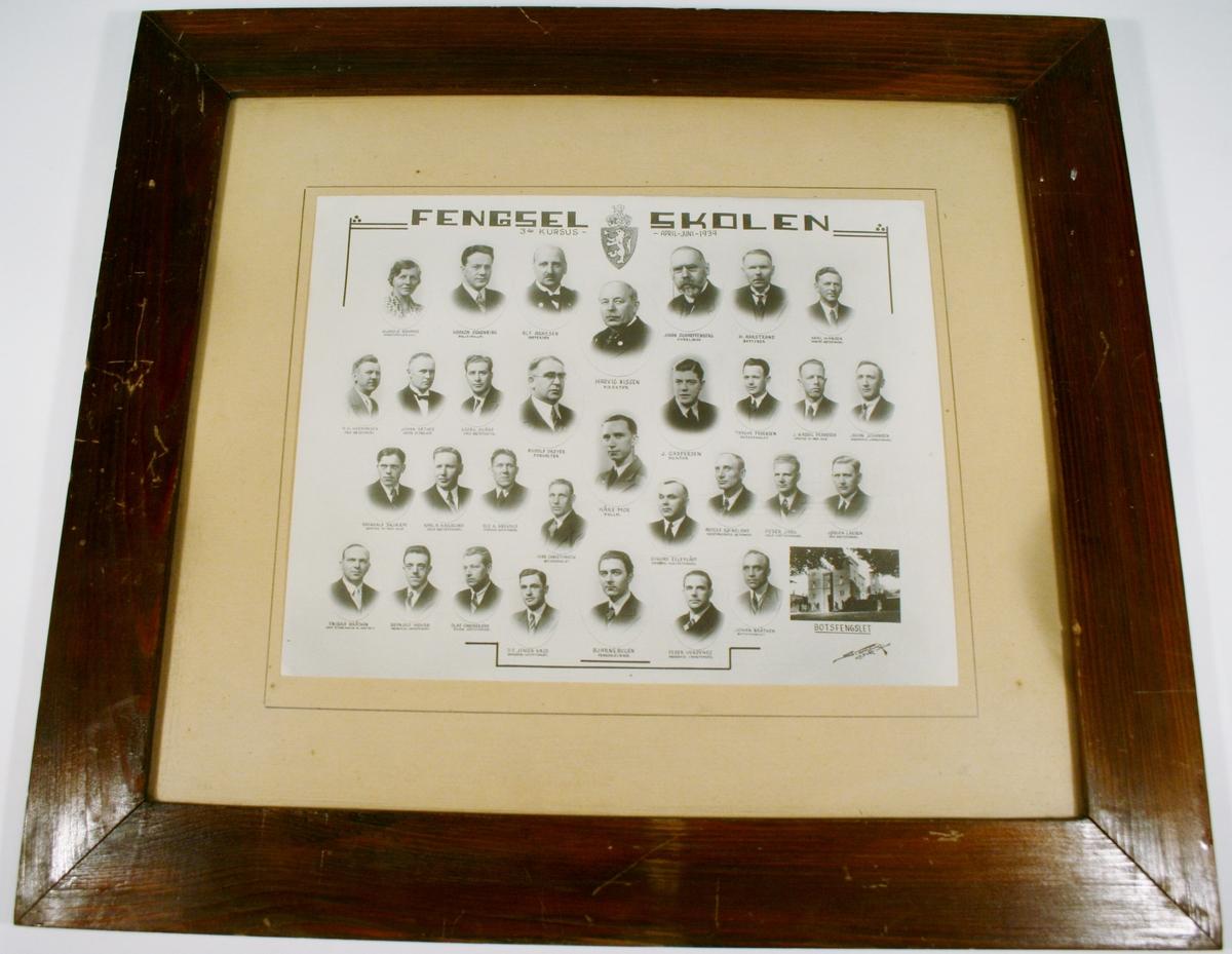Fengsel Skolen 3 kursus April-Juni 1939