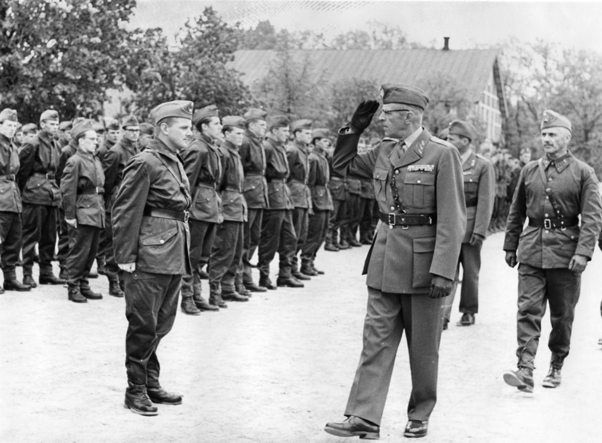 Inspektion, A 6. Militärbefälhavarens inspektion, 3.Batt.