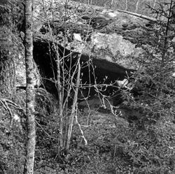 """Enligt text: """"Grotta nr 2 Bräcke Tanum""""."""