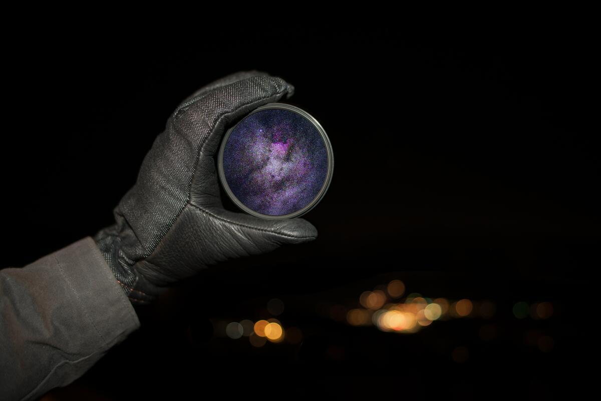 Bildet viser stjernehimmelen (Foto/Photo)