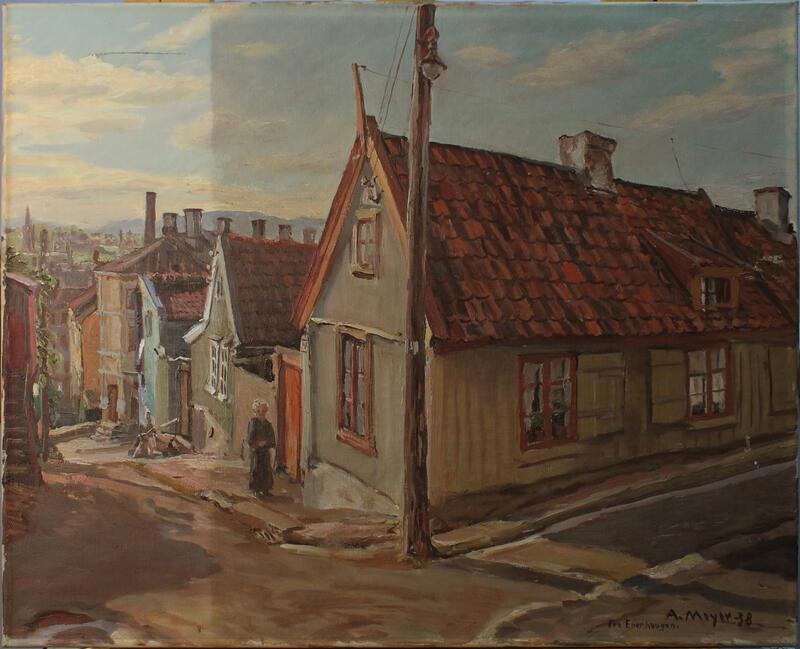 Rensing av Enerhaugenmaleri (Foto/Photo)