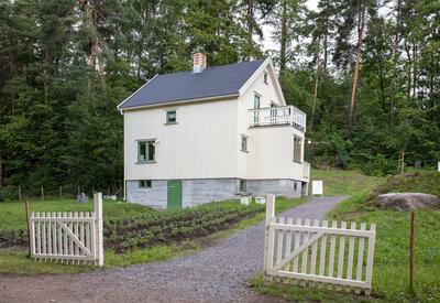 Gjenreisningshuset fra Finnmark på Bygdøy. Foto: Håkon Harris/Norsk Folkemuseum (Foto/Photo)
