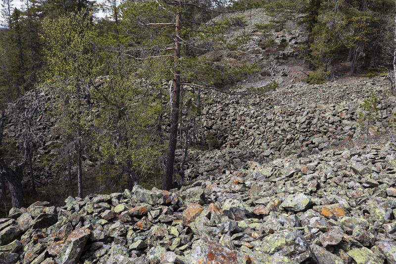 Berghalder nedenfor Nr. 6. (Foto/Photo)