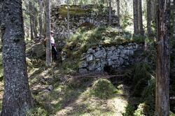 Norske Løve kunsthjulstue, bygd på 1780-tallet. (Foto/Photo)