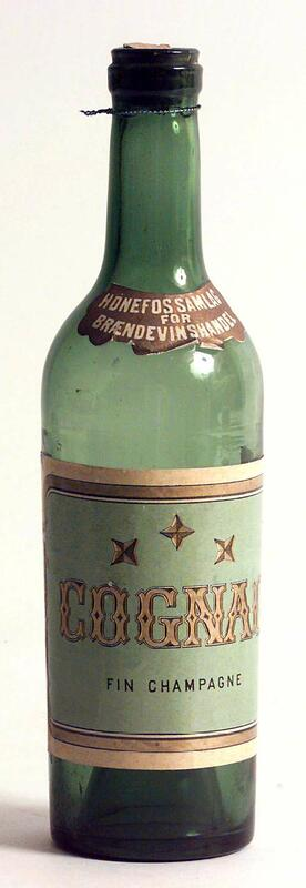 Cognacflaske. (Foto/Photo)