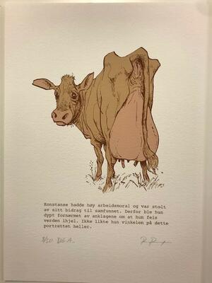 Konstanse.21x29,7cm DGA-trykk (Digital Graphic Art) på Hahnemühle William Turner 310 gsm. Opplag: 50 Signert og nummerert - kr 1200 (Foto/Photo)