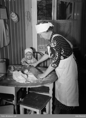 Julebakst 1943. Foto/Photo