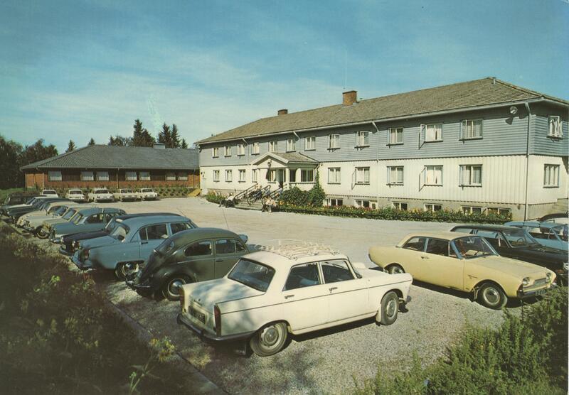 Hadeland Turisthotell, Hadeland, 1970-tallet. Foto: B. Ryste/Randsfjordmuseet. (Foto/Photo)