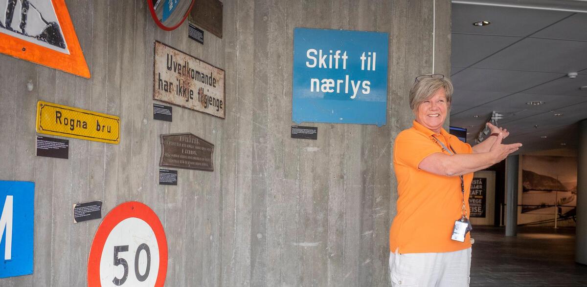 Vil du bli vår nye kollega? Foto: Morten Reiten/Norsk vegmuseum (Foto/Photo)