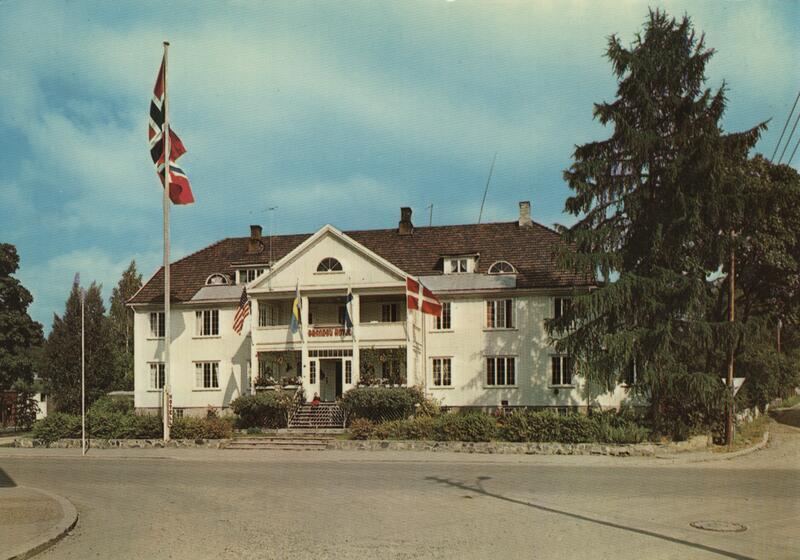 Brandbu Hotell Foto: B. Ryste/Randsfjordmuseet. (Foto/Photo)