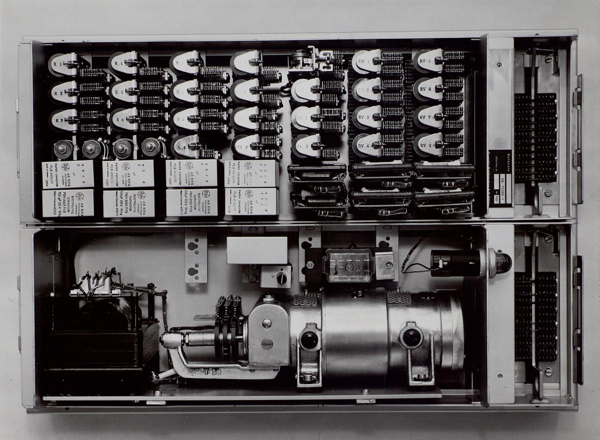 Signalgenerator för automatisk landsväxel, Standard 41.
