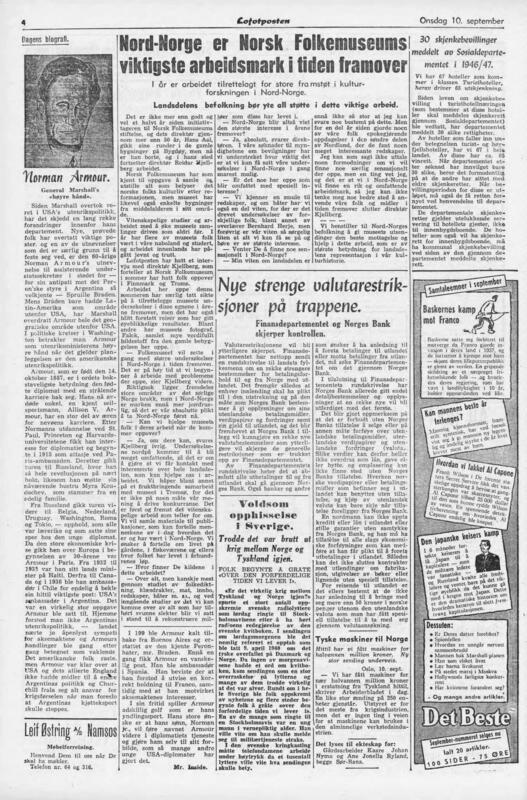 Lofotposten 1947 (Foto/Photo)