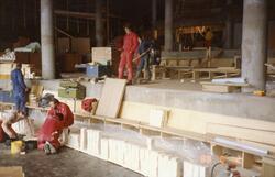 """Nordkapp. Prosjekt """"Nordkapp 1990"""". Utbygging av Nordkapphal"""