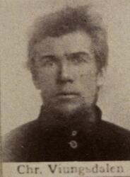 Sjakthauer Christian A. Veungsdalen (1853-1916) (Foto/Photo)