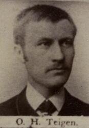Sjakthauer Ole H. Teigen (1864-1943) (Foto/Photo)