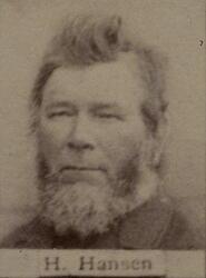 Maskinist Hartvig Hansen (1824-1901) (Foto/Photo)