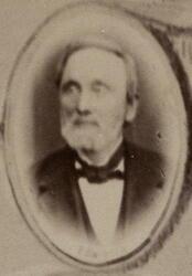 Materialforvalter Hans Jørgen Nærup (1809-1892) (Foto/Photo)