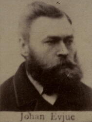 Borhauer Johan P. Evju (1850-1914) (Foto/Photo)