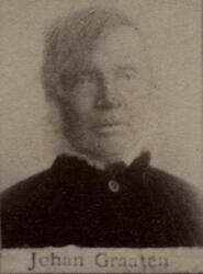 Fyrvarter Johan H. Graaten (1823-1908) (Foto/Photo)